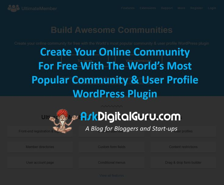 Quickly learn how Ultimate Member can create your online community for free Your users will love it and you will see increase in your registrations.