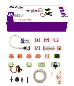 littleBits Electronics Deluxe Kit Your son will enjoy playing with light, sound, sensing and buttons without wiring, soldering or programming. The biggest kit of littleBits makes 18 powerful modules to play with.  http://awsomegadgetsandtoysforgirlsandboys.com/cool-gadgets-boys/ littleBits Electronics Deluxe Kit