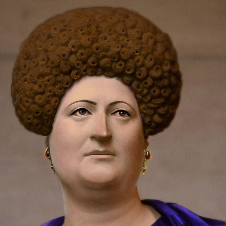 Épinglé par Christelle Tortech sur Coiffures romaines