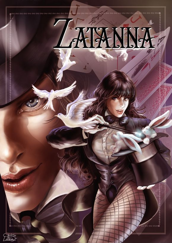 260 best images about Zatanna on Pinterest | Black canary ...