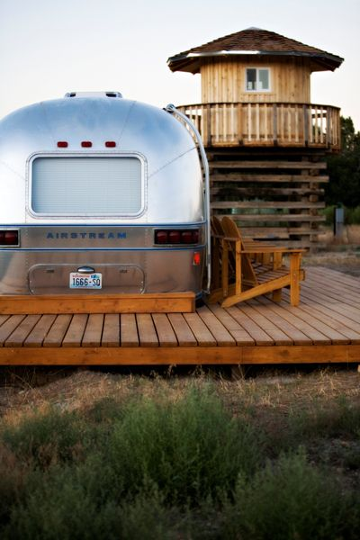 Glamper An Airstream Diary Outside Pinterest
