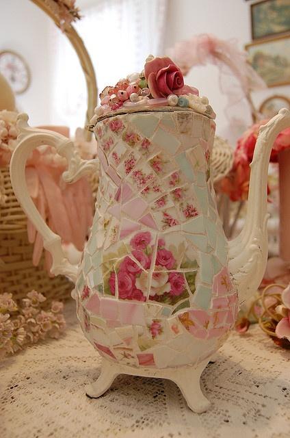 Mosaic tea pot by bellawood. Visit teabox.com to order #tea online!