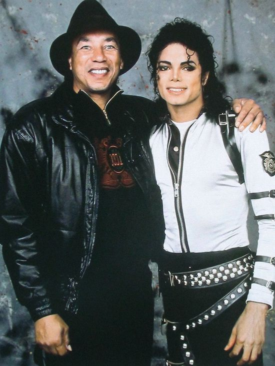 Michael Jackson with Smokey Robinson