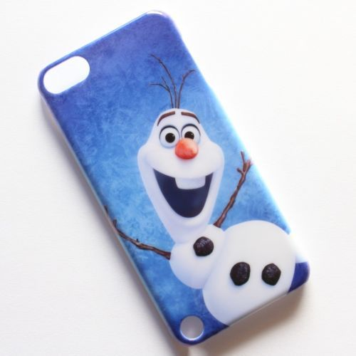 Frozen Snowman Olaf Funny Dance Pattern Case Cover For iPod Touch 5th 5 Gen #Q09
