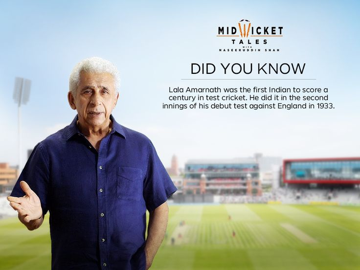 Tonight on #MidWicketTales with Naseeruddin Shah delves into the untold stories of cricketers who made a glorious comebacks after a hiatus. #Cricket ##Legends #Stories