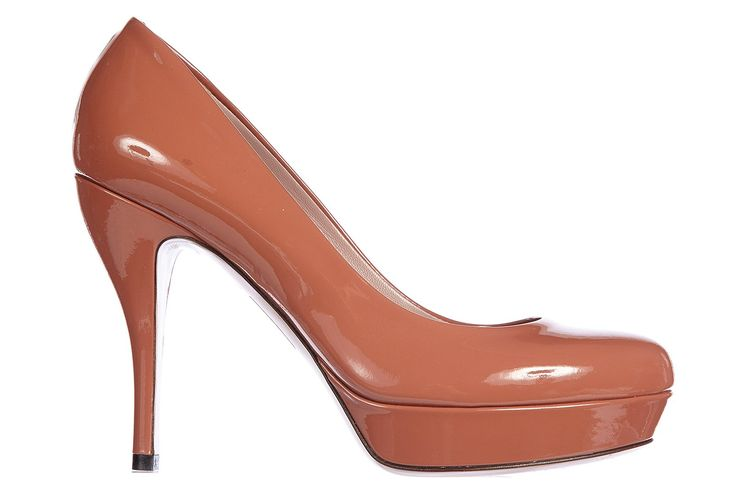 Gucci women's leather pumps court shoes high heel crystall patent leather brown US size 8.5 309999 BNC00 9822. Product code: 309999 BNC00 9822. Color: brown. Material: leather.