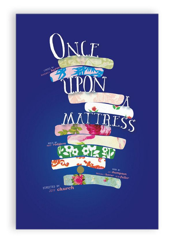 once upon a mattress broadway poster. once upon a mattress by katie curtis via behance broadway poster