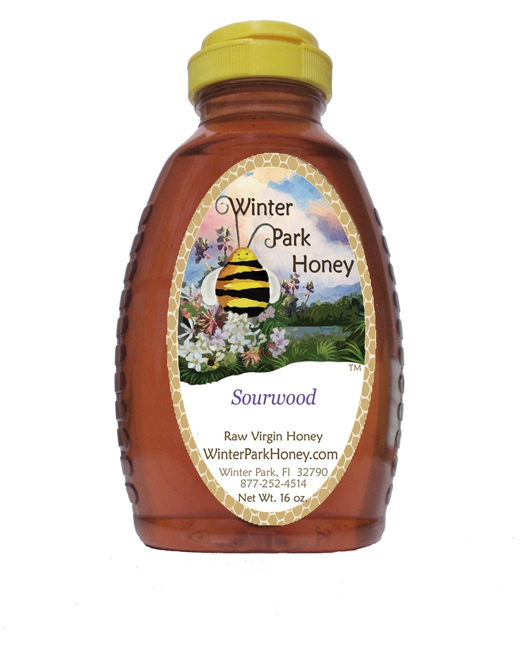 This year's sourwood honey is in and it's the best ever! Sourwood honey is often referred to as the best honey in the world. It's been known to convert many non honey eaters into honey lovers! This honey is known for it's delightfully unique taste and its slightly purple color. The sourwood tree blooms throughout June and July in the North Carolina/Georgia Mountains. Every honey harvest will vary from year to year. This year's sourwood was a bit darker than last year.