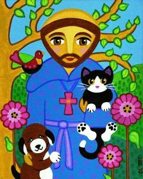 4 ottobre festa del patrono degli animali auguri