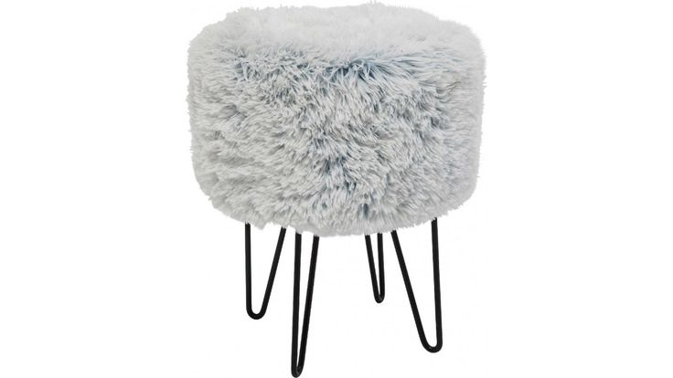 Tabouret Fur Polar Kare Design