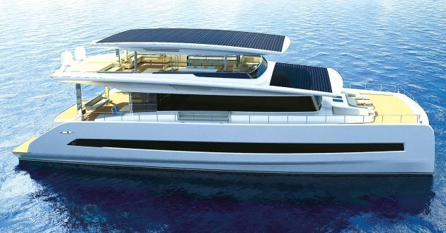 Silent 80 Hybrid Yacht Pioneer Reveals Bold Plans For First Electric Superyacht In 2020 Luxury Yachts Yacht Solar Electric