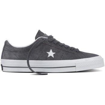 hippe Converse one star suede ox heren sneakers (Grijs)