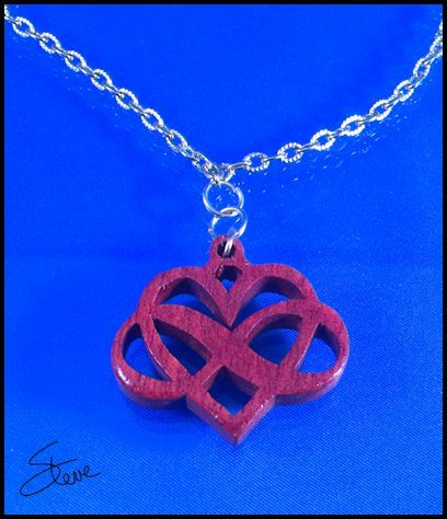 Infinity Heart Pendant. You can make this project in under half an hour from start to finish. The pendant is only 1.25 inches tall so ...