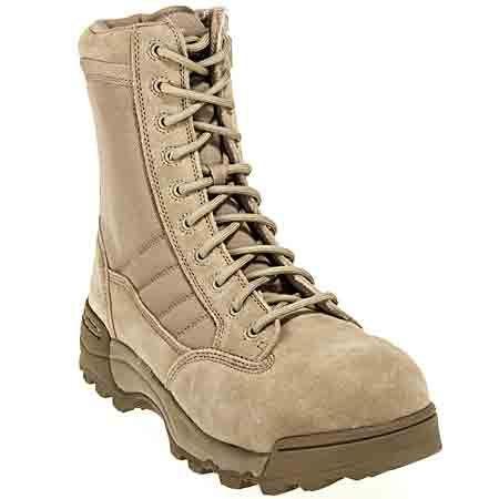 Original SWAT Men's Composite toe Suede Leather Side Zip Boots 119402