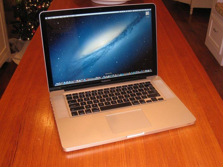 15 Apple Macbook Pro i7 Quad Core  16 GB RAM  Thunderbolt  EXTRAS!!