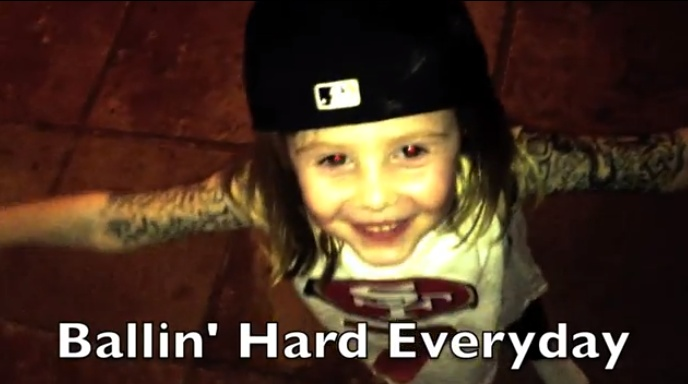 Oh Nothing, Just A Little Girl Rapping About Colin Kaepernick