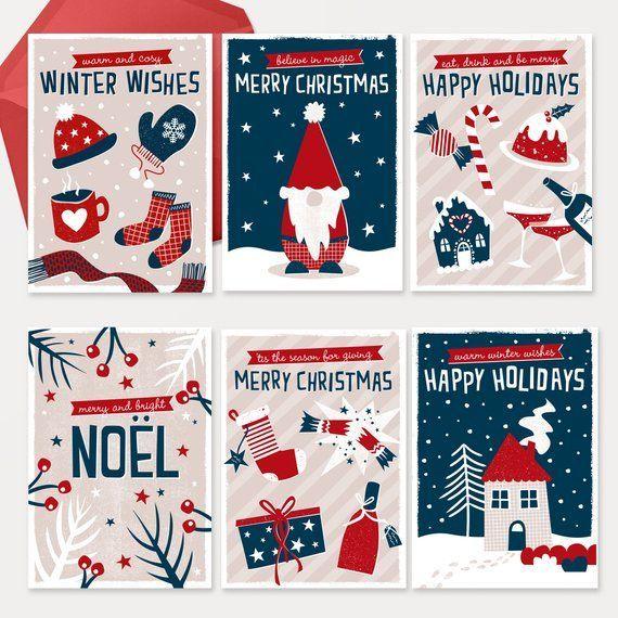 Christmas Card Pack By Zedig Design Scandinavian Christmascard Hygge Zedigdesign In 2020 Christmas Card Packs Christmas Cards Christmas Illustration