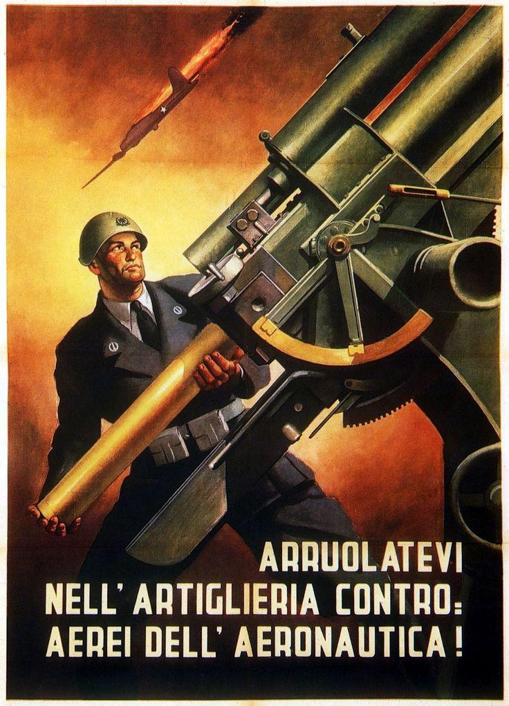 Arruolatevi-Nell-Artiglieria-Contro.-Aerei-Dell-Aeronautica-by-Gino-Boccasile-1944.jpg (1153×1600)