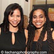 Gloria Reuben and Suzan-Lori Parks. Photo by Lia Chang
