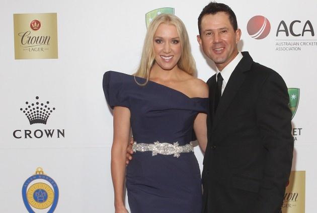 Ricky and Rianna Ponting