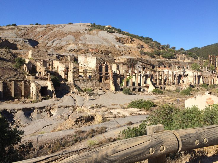 Sardegna - Miniera di Ingurtosu