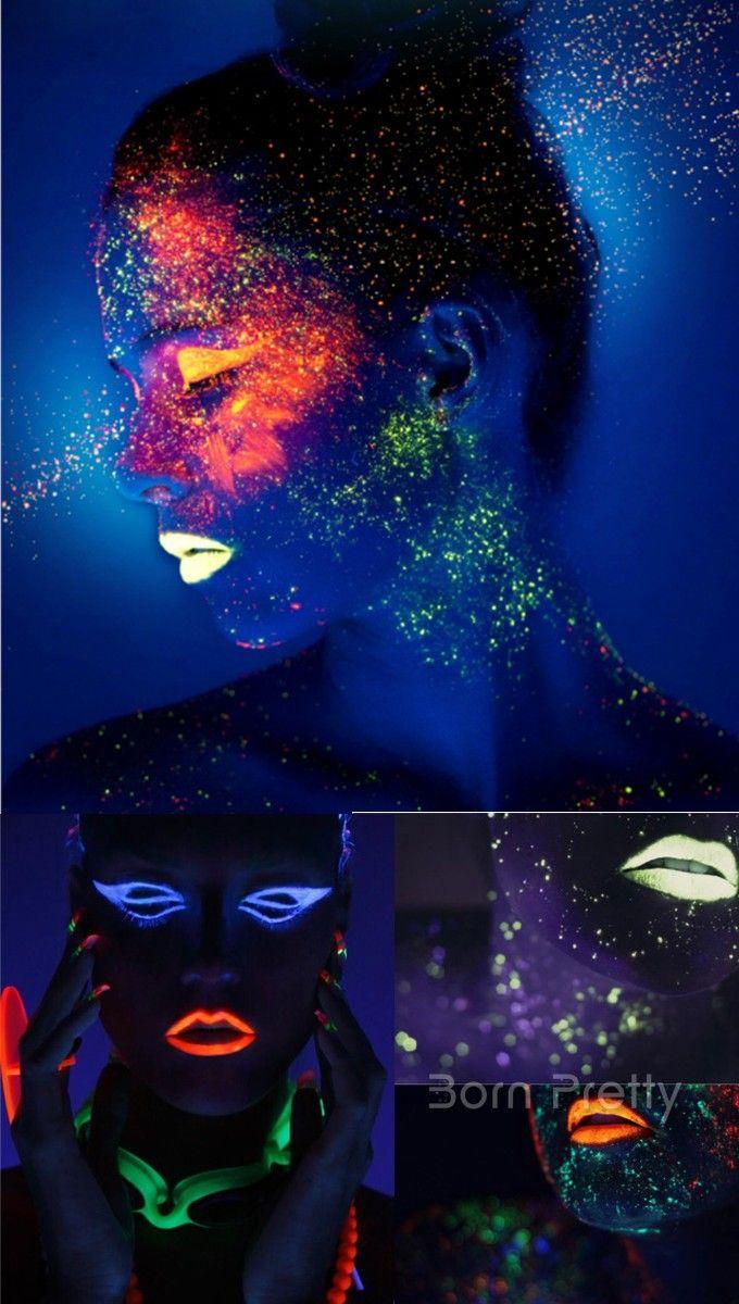 Abia astept sa primesc acest ruj fluorescent, Este super cool pentru noptile de vara, disco, party, nu? $3.99 Luminous Moist Lip Gloss Lubric Light Color Long Lasting Lip Stick 6 Colors - BornPrettyStore.com