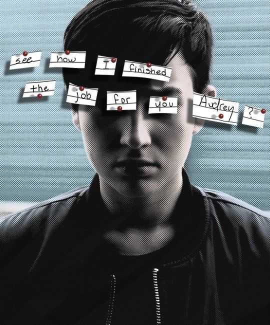 "Dear Killer, please stop ""helping"" Audrey. Thank you kindly. #MTVScream"