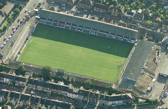 Saltergate, Chesterfield's old ground