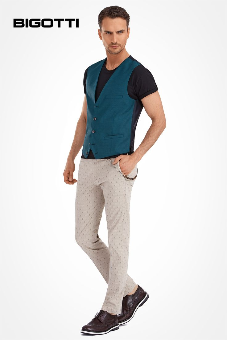 Fresh #take of the #classic #pieces, #modern #accessories, #cool #attitude www.bigotti.ro  #Bigottiromania #moda #barbati #stil #masculin #vesta #pantaloni #jacquard #accesorii #mensfashion #ootdmen #ootd #followus #fashiontag #menswear #mensstyle #mensclothing #waistcoat #brogue #chinos #smart #lejer #modern #actual #original #inspired #blend