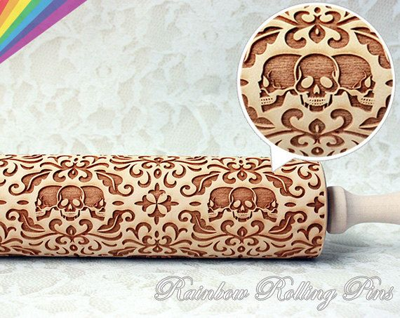 PERSONALIZED rolling pinEngraved rolling by RainbowRollingPins