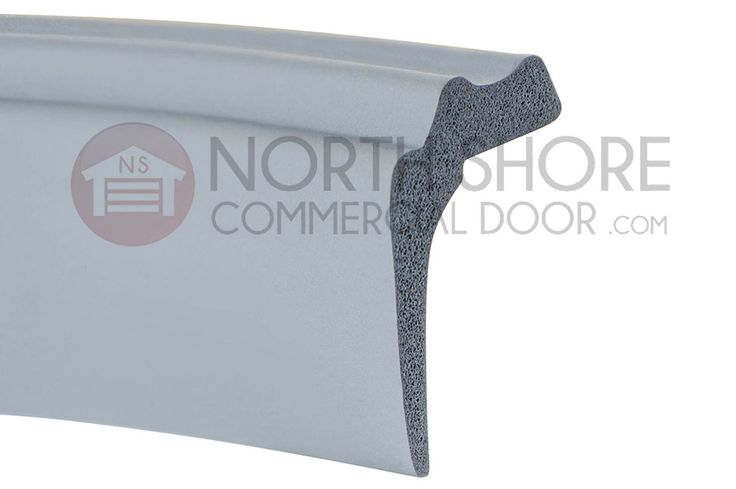 Martin Garage Door bottom weather-seal WTS-0020 helps keep your garage door sealed from letting air and dust inside This buttom rubber seal is for sale exclusively at North Shore Commercial Door.