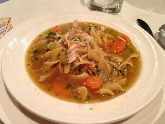 America's Test Kitchen Pressure Cooker chicken noodle soup in a little over an hour!