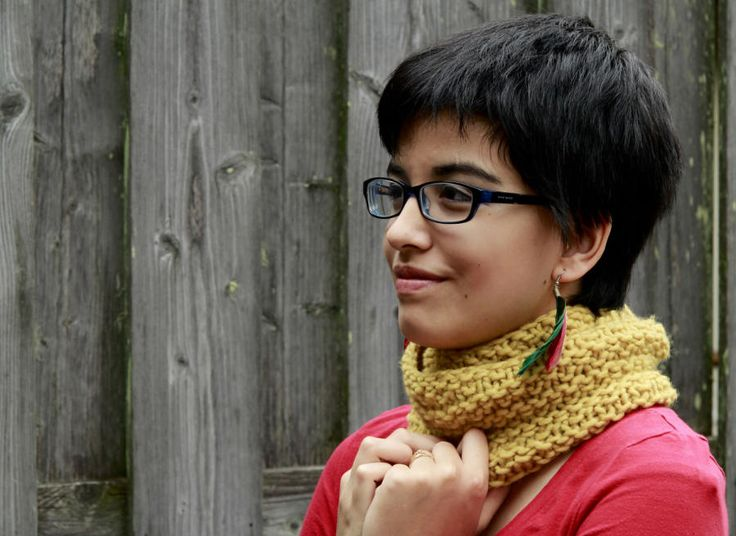 Honey Comb Cowl - Knitting creation by Francoise Danoy | Knit.Community