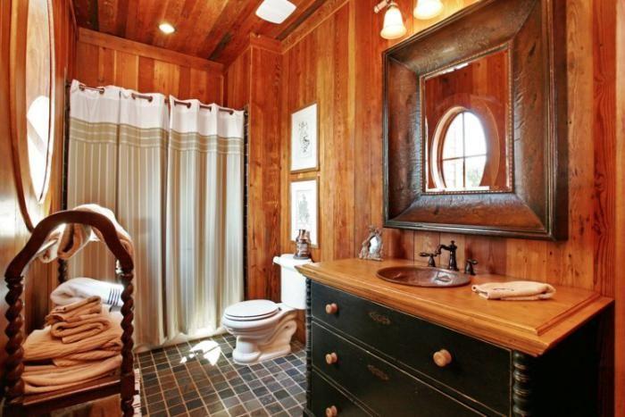 Ausgefallene Designideen Fur Ein Landhaus Badezimmer Rustikale Bad Eitelkeiten Rustikale Bader Rustikale Badezimmer Dusche