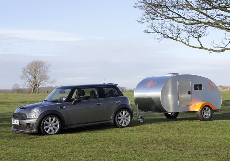 Pod makes little impact to even the smallest of tow vehicles. with its aerodynamic curves making little impact to fuel economy.