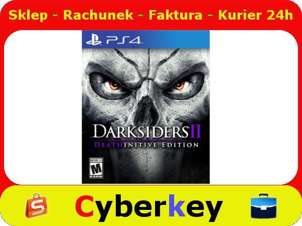 Darksiders II Deathinitive Edition PS4 Nowa