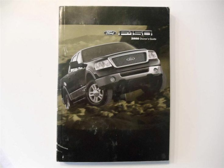 Best 25 ford owners manual ideas on pinterest 2008 ford f 150 owners manual book fandeluxe Image collections