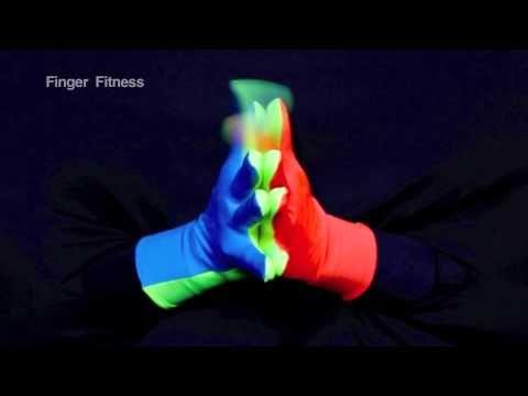 Finger Fitness Exercise Dances for Kids - YouTube