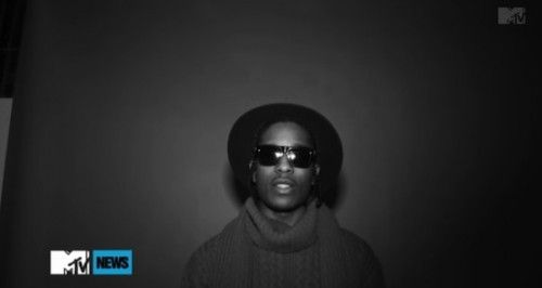Here's some behind the scenes footage from ASAP Rocky's upcoming video 'Phoenix'.