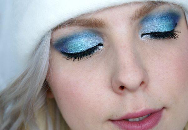 Ledové oční stíny