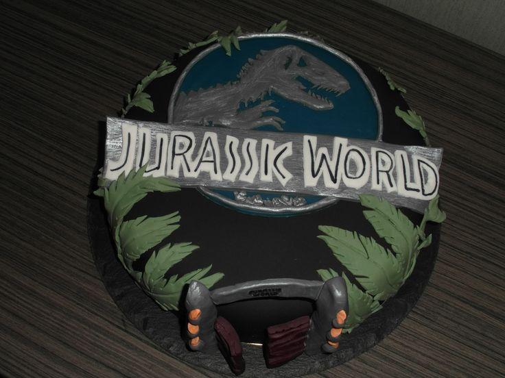 Jurassic Park Birthday Cake Toppers