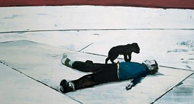 Koen Vermeule, zonder titel, 1993, 170x340cm