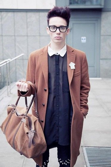 London Fashion Week: Menswear Day (by Harry J Bartlett) http://lookbook.nu/look/3129107-London-Fashion-Week-Menswear-Day