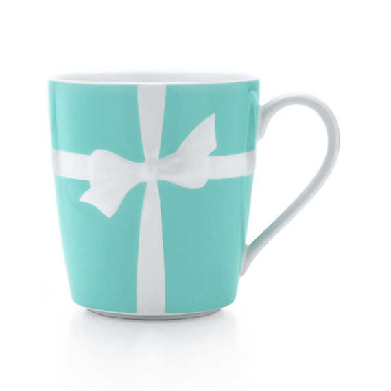 There is something at Tiffany and Co I can actually afford!! <3 Tiffany Bows mug in ironstone ceramic.