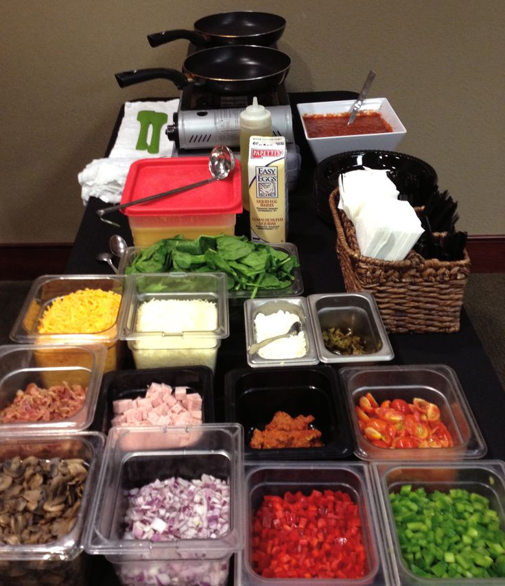 Omelette Bar Catering Pictures - Google Search