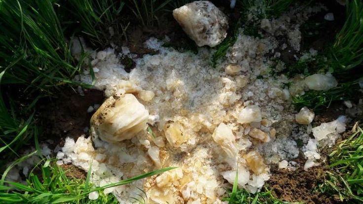 'Meteoro' en Pataudi sospecha de estar congelado de las excretas humanas que se cayó de un avión https://cstu.io/d0dd68