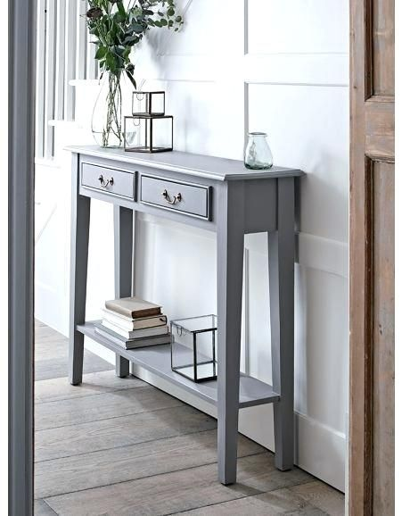 Elegant Small Sofa Table With Drawers Console Tables Small Narrow Hallway Console  Tables With Storage Black Finish Console Sofa Table With Drawer