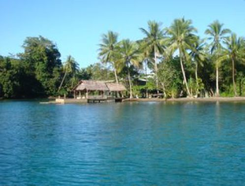 The tropical waters of the Huon Gulf surrounds the Morobe province. http://www.pagahillestate.com/visiting-morobe-province/