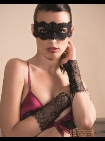 Les Romantiques Le Sublime lace eye mask by Maison Close. Available for £21.90 at The House of Seduction