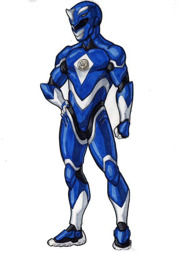 Blue Ranger Redux by DavidFernandezArt on DeviantArt